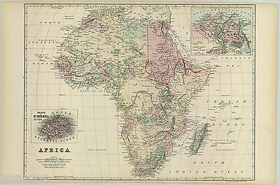 "1881 S.A. Mitchell ""AFRICA"""