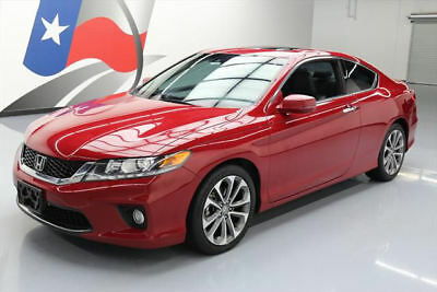 2013 Honda Accord EX-L Coupe 2-Door 2013 HONDA ACCORD EX-L V6 COUPE HTD LEATHER SUNROOF 84K #003121 Texas Direct