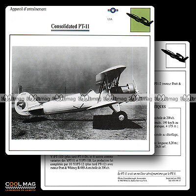 #098.17 CONSOLIDATED PT 11 - Fiche Avion Airplane Card