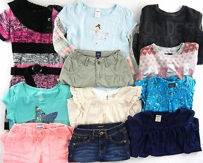OLD NAVY UNDER ARMOUR GAP GYMBOREE Clothing LOT Girl Size 7 8 BTS Back To School
