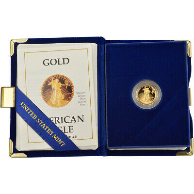 1988-P American Gold Eagle Proof (1/10 oz) $5 in OGP