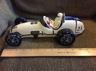 EZRA BROOKS Indy 500 Roadster Race Car #21 VINTAGE 1971 Decanter