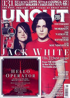 UK UNCUT magazine October 2017 Jack White The White Stripes Steve Winwood