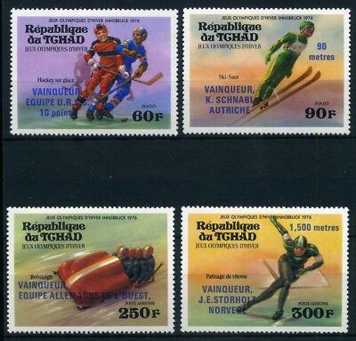 Tschad MiNr. 731-34 postfrisch/ MNH Olympiade 1976 (Oly700
