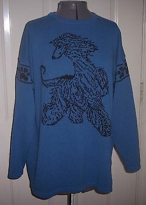 Custom Knitted Afghan Hound Dog Sweater Create your own read below