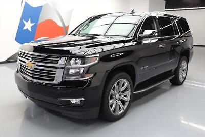 2017 Chevrolet Tahoe Premier Sport Utility 4-Door 2017 CHEVY TAHOE PREMIER 4X4 SUNROOF NAV DVD 22'S 9K MI #170259 Texas Direct