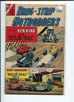 Drag-Strip Hotrodders 15 Vg-Fn 1967