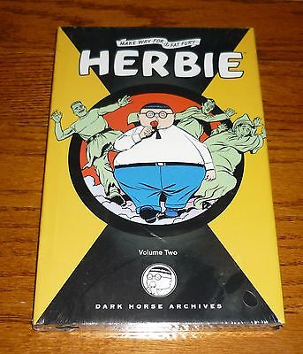 Herbie Archives Volume 2 SEALED ACG Dark Horse hardcover book The Fat Fury