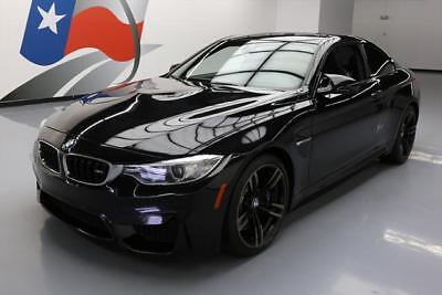 2015 BMW M4 Base Coupe 2-Door 2015 BMW M4 COUPE EXECUTIVE SUNROOF NAV HUD 19'S 46K MI #332845 Texas Direct