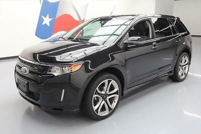 2014 Ford Edge Sport Sport Utility 4-Door 2014 FORD EDGE SPORT AWD PANO ROOF NAV LEATHER 22'S 44K #A13976 Texas Direct