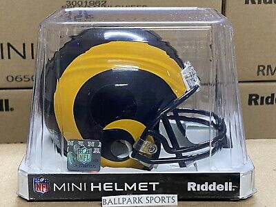 STL LOS ANGELES RAMS (1981-99 Throwback) Riddell VSR4 Mini Helmet