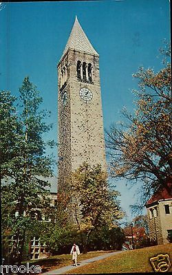 Lot of 2 CORNELL, Ithaca, New York Vintage NY Postcards Chime Tower  Sage Chapel