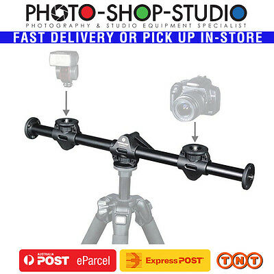 Vanguard Multi-Mount 6 fit Benro Manfrotto Tripod for Flatlay Photo 2 Cameras