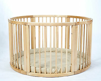 SALE Brand NEW VERY LARGE Wooden Playpen ATLAS UNO with Playmat from MJmark SALE