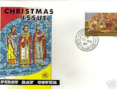 First Day Cover .christmas Issue 1967