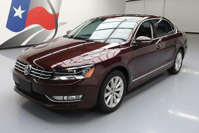 2012 Volkswagen Passat  2012 VOLKSWAGEN PASSAT SEL HEATED LEATHER NAV 31K MILES #096029 Texas Direct