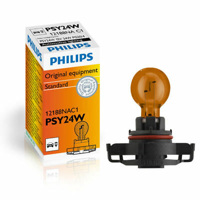 1x Philips PSY24W Bulb 12V/24W Amber Signal Indicator Light