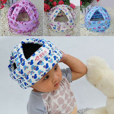 Adjustable Baby Toddler Safety Helmet Hat Head Protection Colorful 1x 2016