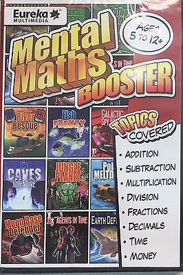 Mental Maths Booster - Full version for Windows - Brand New Sealed!