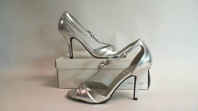 Private Collection By Dyeables Wedding Shoes - Silver - Victoria -  UK 7 #38R237