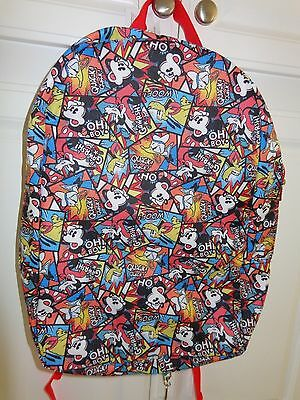 Walt Disney World Resort Backpack Mickey Mouse Bag NWT