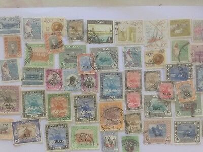 200 Different Sudan Stamp Collection