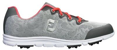 FootJoy enJoy Golf Shoes Womens - 95703 - Pool Grey Mist