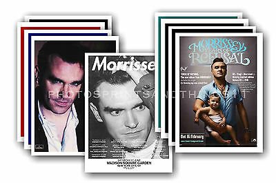 MORRISSEY  - 10 promotional posters  collectable postcard set # 3