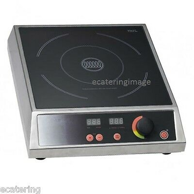 Chef King BT270A  2.7kw Catering Induction Hob. Lowest Price In The UK FREE P&P