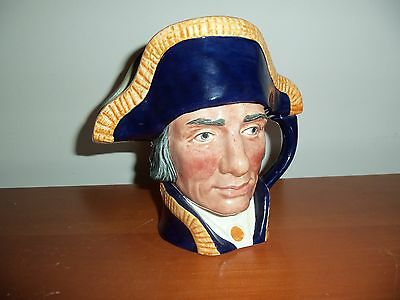 Lord Nelson Large Jug Royal Doulton D6336  1951   Mint Condition