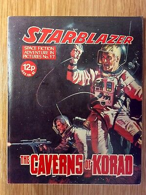 Starblazer: Issue no 17  -  UK Science Fiction Comic  -  Excellent Condition