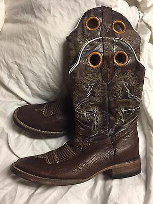 Men's Constantinos Leather Boots Size 8.5 US