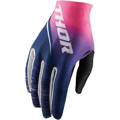New Thor Mx Womens Void Dashe Navy Pink Mens Adult Atv Riding Race Gloves Racing