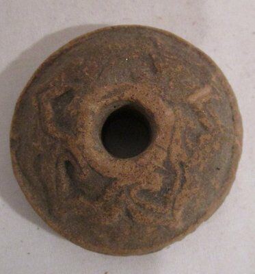 ANTIQUE 900-1500 AD  Pre-Columbian malacates Spindle Whorl #2