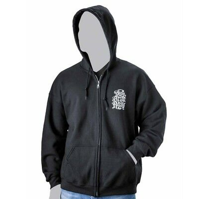 Arctic Cat Men's Team Arctic Racing Full Zip Hoodie - Black - 5259-54_