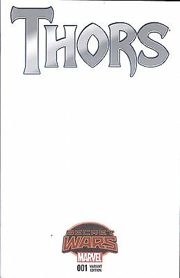 Marvel's THORS(8/15)-Issue #1-Variant BLANK Cover