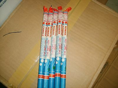 Firecracker Fireworks Labels Horse Roman Candles Lot Of 5