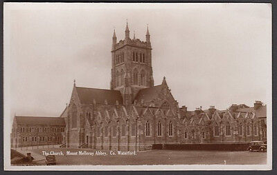 IRELAND REAL PHOTO POSTCARD - The Church, Mount Melleray Abbey, Co. Waterford