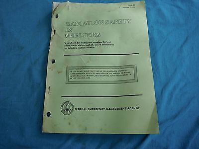 Radiation Safety in Shelters,  1983 edition