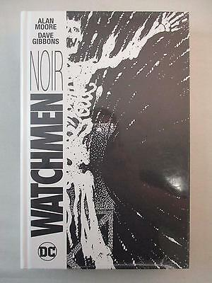Watchmen NOIR HC Comic Sealed NEW DC Hardcover Alan Moore Dave Gibbons