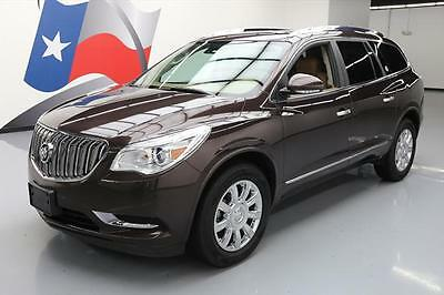 2015 Buick Enclave Leather Sport Utility 4-Door 2015 BUICK ENCLAVE LEATHER HTD SEATS 7-PASS NAV 28K MI #312114 Texas Direct Auto
