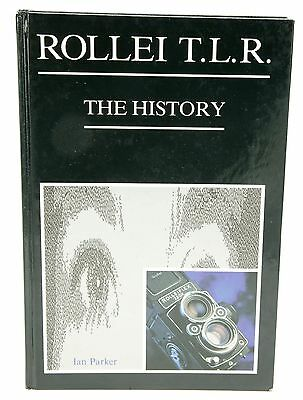 """""""Rollei T.L.R.-The History"""" Collectible Hard Cover Book In English. 190pgs. UK."""