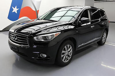 2015 Infiniti QX60 Base Sport Utility 4-Door 2015 INFINITI QX60 7PASS HTD SEATS SUNROOF REAR CAM 45K #500631 Texas Direct