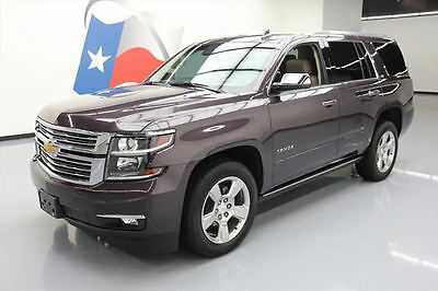 2016 Chevrolet Tahoe LTZ Sport Utility 4-Door 2016 CHEVY TAHOE LTZ 4X4 SUNROOF NAV HUD DVD 7-PASS 18K #329622 Texas Direct