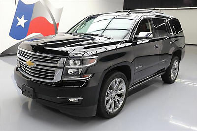 2015 Chevrolet Tahoe LTZ Sport Utility 4-Door 2015 CHEVY TAHOE LTZ SUNROOF NAV REAR CAM DVD 22'S 28K #595378 Texas Direct Auto