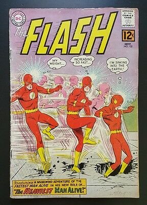 The Flash #132 - (Nov 1962, DC) - GD