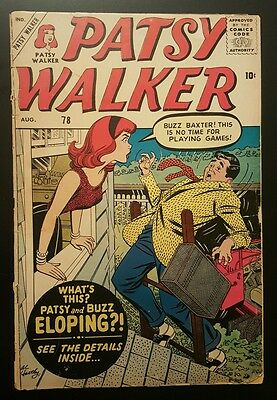 Patsy Walker #78 -  (Aug 1958, Marvel) - GD-