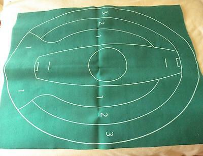 Test Match Board Game - Cricket Pitch Mat - Replacement Spare Part - VGC