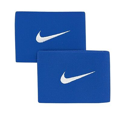 Guard Stays By Nike Royal Blue  New And Packaged 2 Stays In Each Set