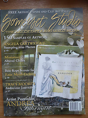 Somerset Studio Magazine - March/April 2006 -  The Art of Paper and Mixed Media